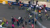 Kraksa dwóch kolarzy Vini Zabu - KTM na 4. etapie Giro d'Italia