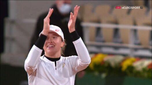Świątek awansowała do półfinału Roland Garros