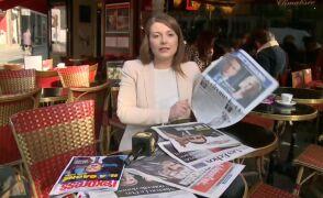 Anna Kowalska przegląda francuską prasę