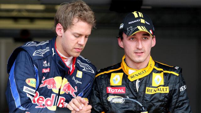 """Powrót Kubicy nie do końca pasuje Vettelowi. """"Myślę o młodych kierowcach"""""""