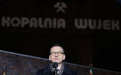 Premier na obchodach 37 rocznicy pacyfikacji kopalni Wujek
