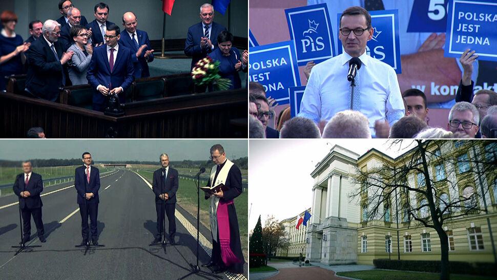 Rok rządów premiera Mateusza Morawieckiego