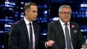 Ryszard Czarnecki i Cezary Tomczyk w