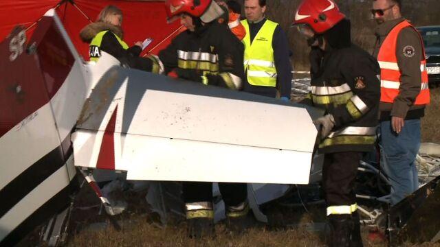 Śmierć dwóch pilotów wyjaśniona. Samolot nie miał awarii