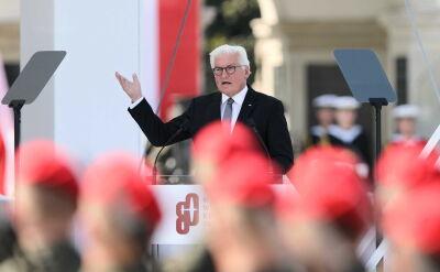 Całe przemówienie prezydenta Niemiec Franka-Waltera Steinmeiera