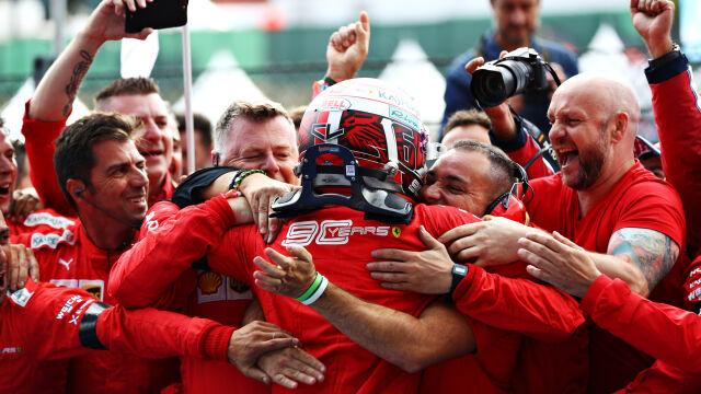 Zagrali Hamiltonowi na nosie. Ferrari się doczekało, Leclerc wygrał pierwszy raz