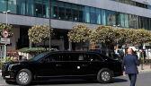 Para wiceprezydencka w drodze do hotelu