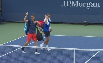 Hurkacz i Pospisil odpadli w pierwszej rundzie debla w US Open