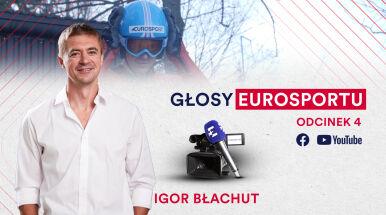 Pora na drugiego z duetu. Igor Błachut to nie tylko głos, ale i nogi Eurosportu