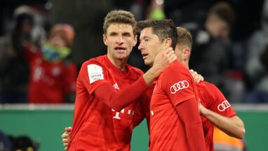 Thomas Mueller o Lewandowskim: jeszcze nie jest legendą Bayernu