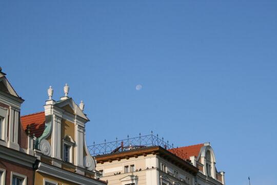 Rano ekipę TVN 24 powitał księżyc