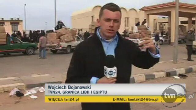 Relacja specjalnego wysłannika TVN24 Wojciecha Bojanowskiego - los uchodźców z Libii