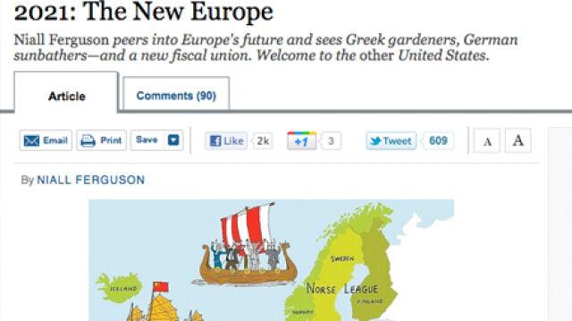 """""""Za 10 lat rozpadnie się obecna Unia Europejska"""""""