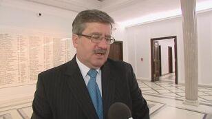 Bronisław Komorowski - Trzeba debaty o immunitecie
