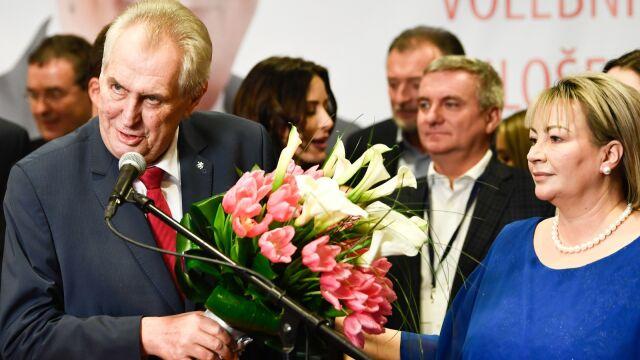 Zeman prezydentem Czech.