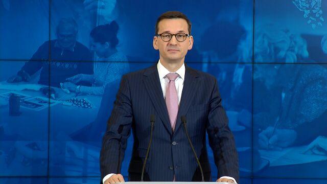 Morawiecki: organizacje gloryfikujące totalitaryzm powinny być zdelegalizowane