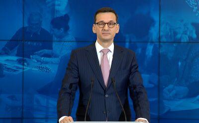 "Premier Mateusz Morawiecki o reportażu ""Superwizjera"" TVN"