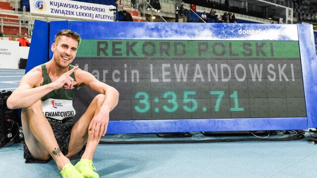 """Marcin Lewandowski z rekordem Polski. """"Nie zatrzymuję się, celem jest medal olimpijski"""""""