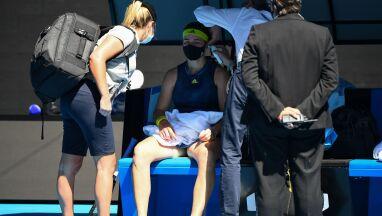 Były zawroty głowy, później niespodzianka. Już bez numeru jeden w Australian Open