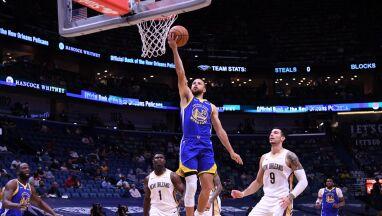 Curry sieje postrach.