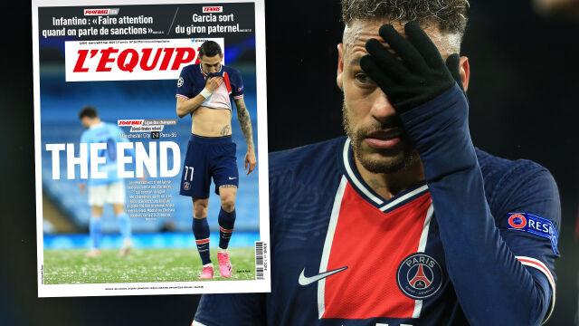 """Smutek we Francji. """"PSG nie oddało nawet strzału"""""""