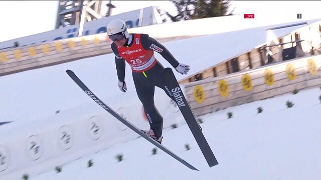 Skok Kupczaka na skoczni normalnej do kombinacji norweskiej w mistrzostwach świata
