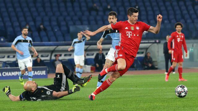 Bayern zabawił się z Lazio. Kolejne trafienie Lewandowskiego w Lidze Mistrzów