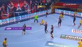 Szybka wymiana ciosów na początku meczu PSG - Łomża VIVE Kielce