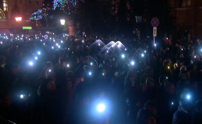 Gdańszczanie opłakują prezydenta Adamowicza