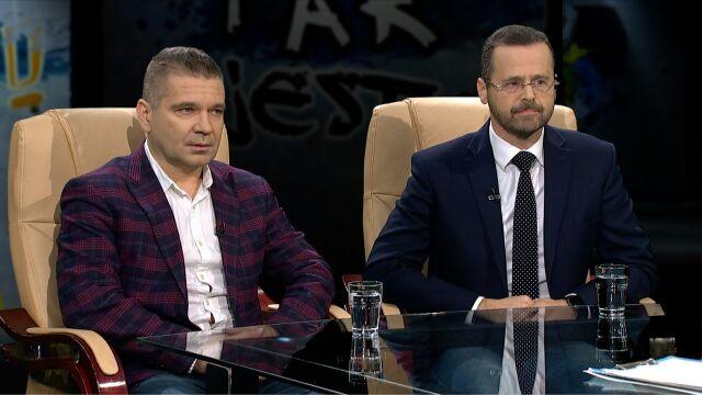 Maciej Karczyński i Mariusz Sokołowski w Tak jest