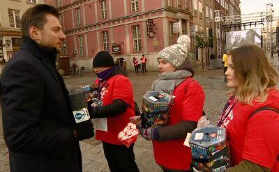 W Gdańsku trwają kwesty wolontariuszy WOŚP i Hospicjum im. ks. Dutkiewicza