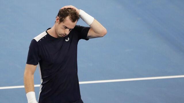Walczył jak lew, ale przegrał. Murray wyjeżdża ze łzami w oczach