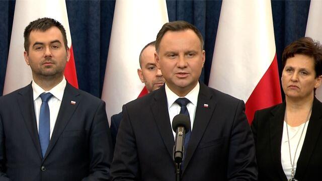 Prezydent Duda zrezygnował z pomysłu marszu przeciw przemocy i nienawiści