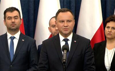 Prezydent: dzień pogrzebu Adamowicza dniem żałoby narodowej