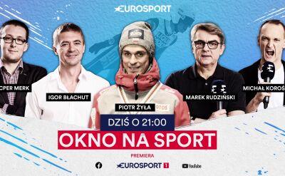 """Piotr Żyła gościem programu """"Okno na sport"""""""