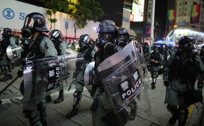 Wzrost napięć w Hongkongu. Protesty brutalnie tłumione przez policję