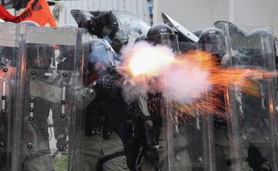 Policja w Hongkongu z szerszymi uprawnieniami do użycia broni