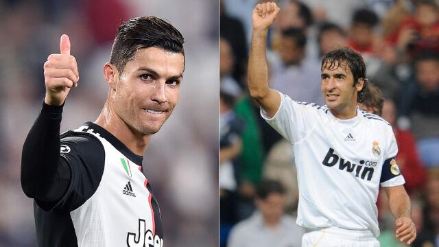 Jeden gol, trzy rekordy. Ronaldo dogonił Raula