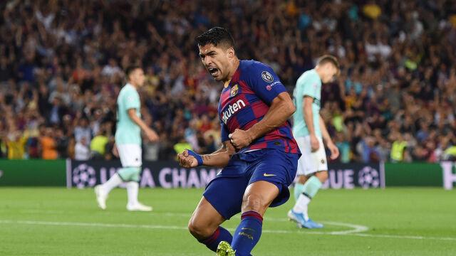 Inter prowadził od trzeciej minuty. Piękne gole Suareza uratowały Barcelonę