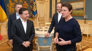 Tom Cruise w Kijowie.