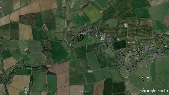 Do wypadku doszło w okolicach bazy RAF Croughton