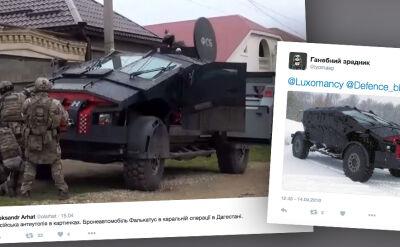 Rosyjski batmobili, wóz falkatus