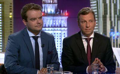 """Sprawę wystawy komentowali w """"Faktach po Faktach"""" Rafał Bochenek i Andrzej Halicki"""