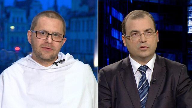 """O. Paweł Gużyński i Andrzej Jaworski w """"Kropce nad i"""""""