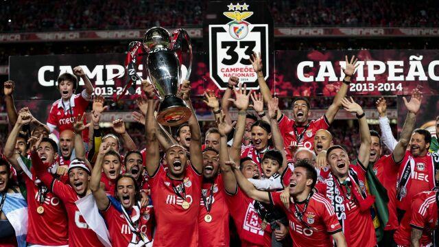 5e44a0d80 Lizbona wpadła w ekstazę. Benfica znowu mistrzem | Eurosport w TVN24 ...