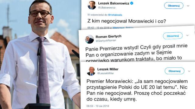 Morawiecki in Sandomierz: I negotiated Poland's accession to the European Union