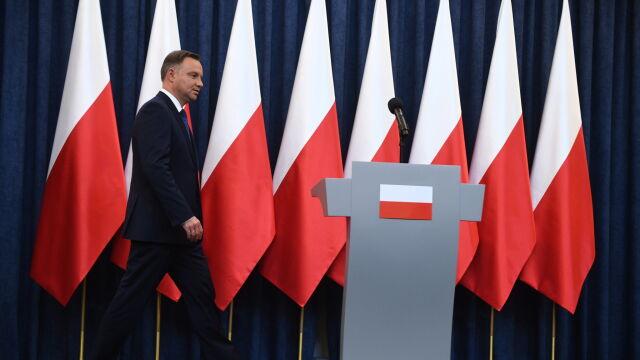 Całe oświadczenie Andrzeja Dudy