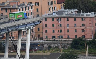 Katastrofa w Genui. Relacja reporterki TVN24 BiS