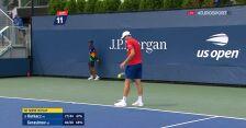 Hurkacz wygrał 2. seta w starciu z Gierasimowem w 1. rundzie US Open