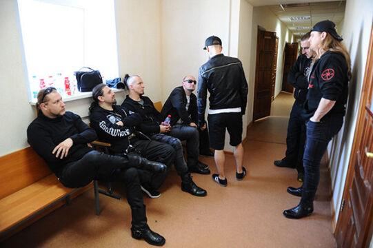 Członkowie zespołu Behemoth czekają na decyzję rosyjskiego sądu